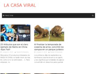 lacasaviral.com screenshot