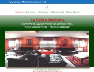 lacasitamexicana.com screenshot