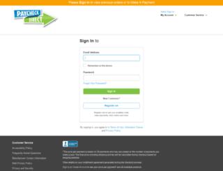 lacea24.mypaycheckdirect.com screenshot