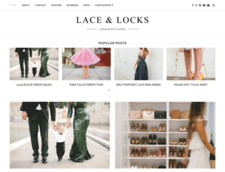 laceandlocks.com screenshot