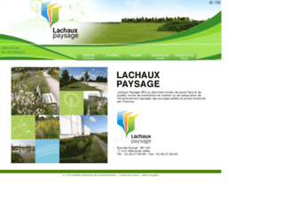 lachaux.com screenshot