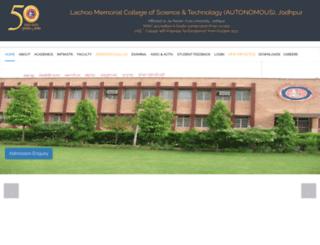 lachoomemorial.org screenshot