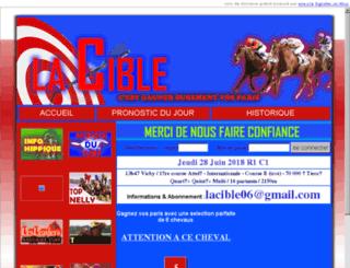 lacible.cla.fr screenshot