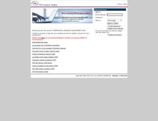 lacityfirefighter.psiexams.com screenshot