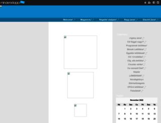 lacka_weboldal.mindenkilapja.hu screenshot