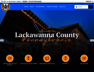 lackawannacounty.org screenshot