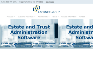 lacknergroup.com screenshot