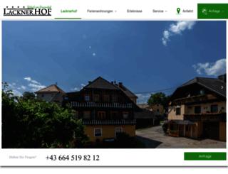 lacknerhof.net screenshot