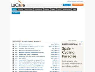 laclave.com.do screenshot