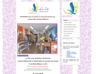 lacleastrale.com screenshot