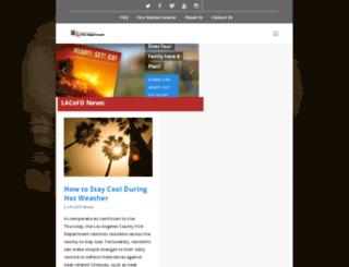 lacofd.org screenshot
