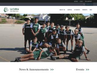 lacolina.sbunified.org screenshot