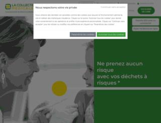 lacollectemedicale.fr screenshot