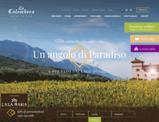 lacolombera.it screenshot