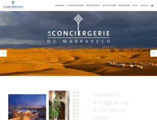 laconciergeriedemarrakech.fr screenshot
