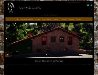 lacortedelrondiellu.com screenshot