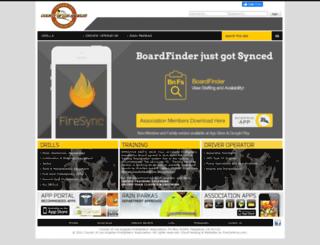 lacountyfirefighters.org screenshot