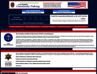 lacp.org screenshot