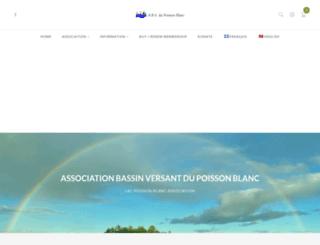 lacpoissonblanc.ca screenshot