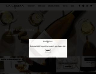 lacrema.com screenshot