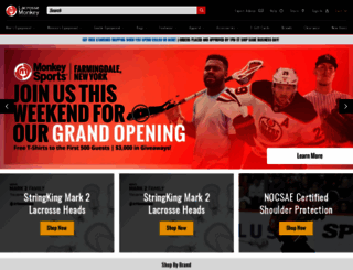 lacrossemonkey.com screenshot