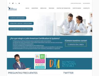 lacs.org.mx screenshot