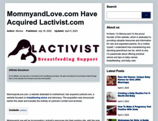 lactivist.net screenshot