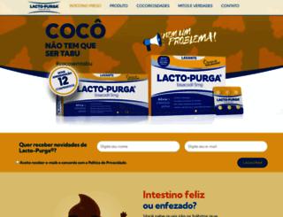 lactopurga.com.br screenshot