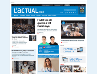 lactual.cat screenshot