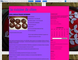 lacuisinedecline.canalblog.com screenshot