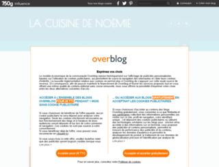 lacuisinedenoemie.com screenshot