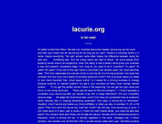 lacurie.org screenshot