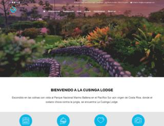 lacusingalodge.com screenshot