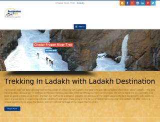ladakhdestination.com screenshot
