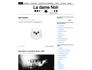 ladamenoir.wordpress.com screenshot