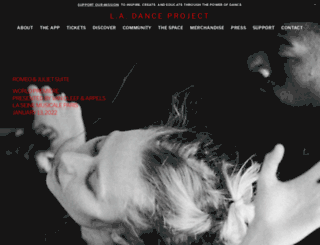 ladanceproject.com screenshot