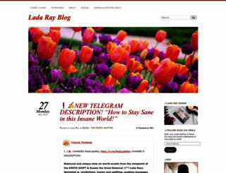 ladaray.wordpress.com screenshot