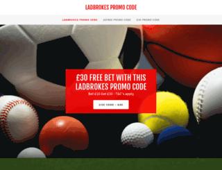 ladbrokespromocode.net screenshot