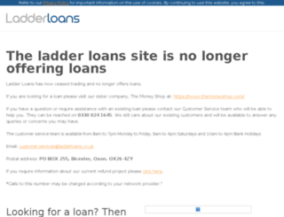 ladderloans.co.uk screenshot