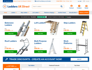 laddersukdirect.co.uk screenshot