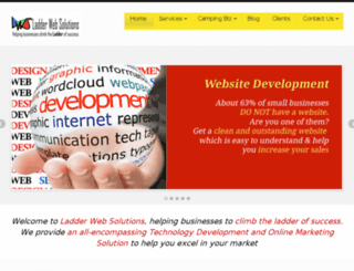 ladderwebsolutions.com screenshot