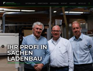 ladenbau-rademacher.de screenshot