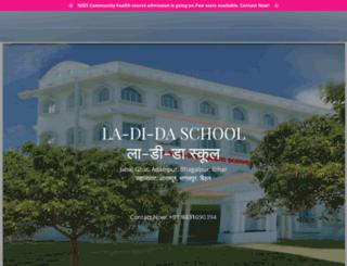 ladidaschool.in screenshot