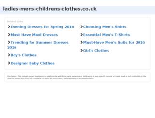 ladies-mens-childrens-clothes.co.uk screenshot