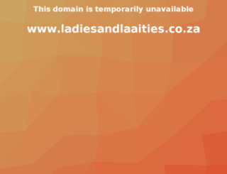 ladiesandlaaities.co.za screenshot