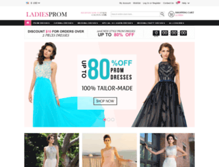 ladiesprom.com screenshot