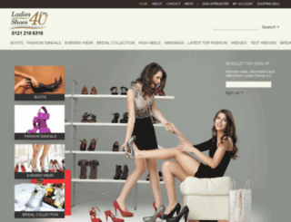 ladiesshoes4u.com screenshot