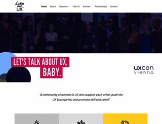 ladiesthatux.com screenshot