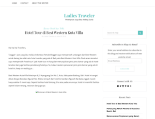 ladiestraveler.com screenshot