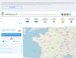 ladistance.fr screenshot